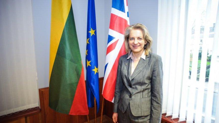 Lietuvos Respublikos ambasadorė Jungtinėje Karalystėje Asta Skaisgirytė Liauškienė