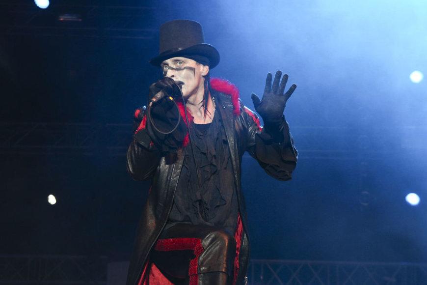 """Rebelheart"" vokalistas Darius Mickus"