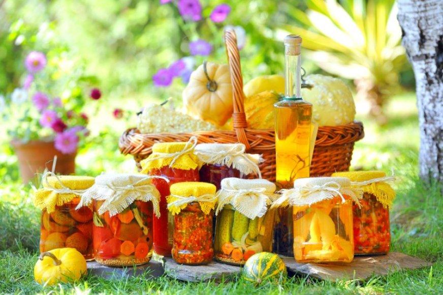 Daržovių konservavimo metas