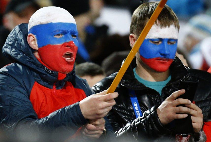 Asociatyvinė nuotr.: Rusijos sirgaliai
