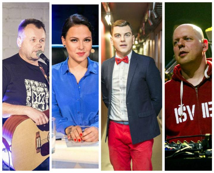 Saulius Urbonavičius-Samas, Justė Arlauskaitė-Jazzu, Rolandas Mackevičius, Gabrielius Liaudanskas-Svaras