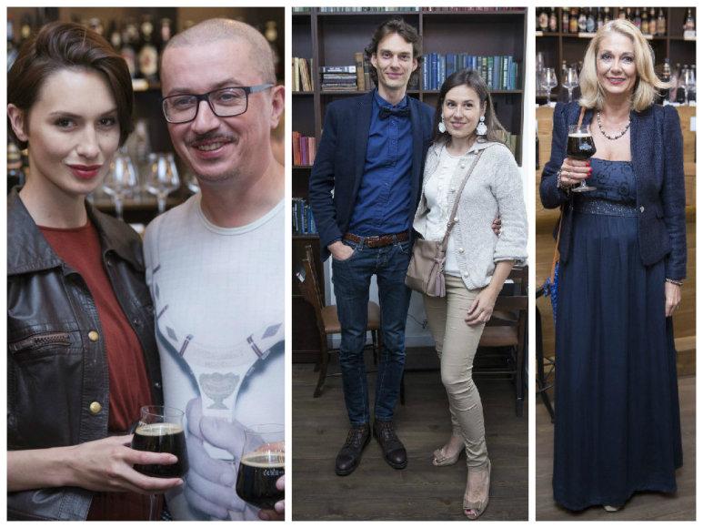 Aleksandras Pogrebnojus ir Monika Račiūnaitė, Dovas Serapinas ir Indra Dovydėnaitė, Gražina Baikštytė