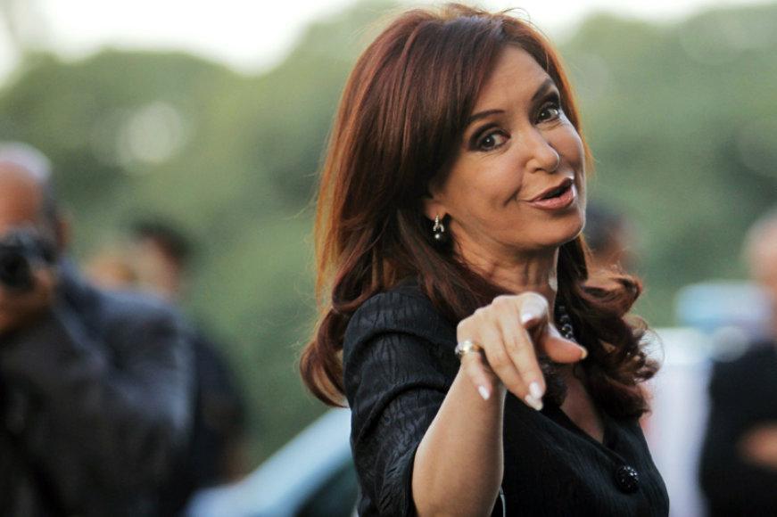 Argentinos prezidentė Cristina Fernandez de Kirchner Elisabet
