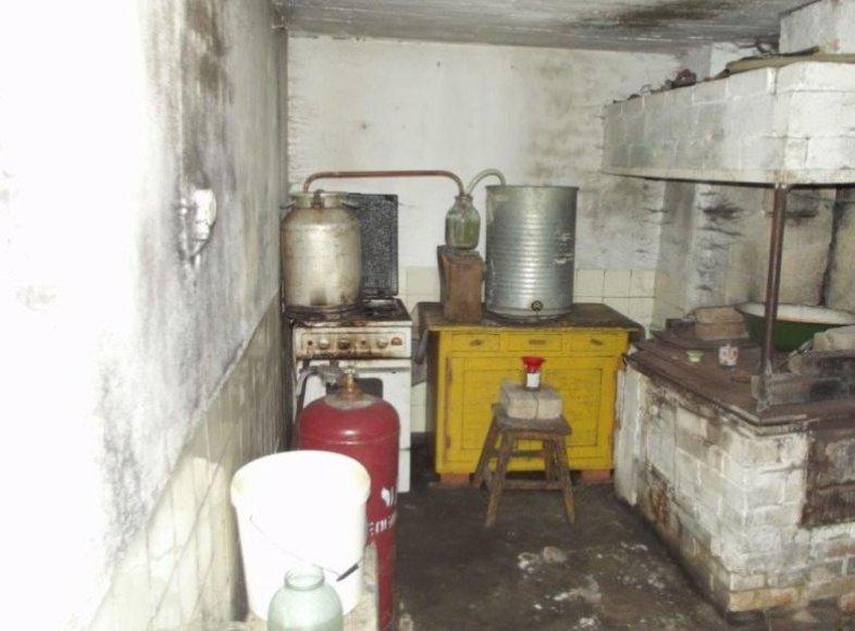 Naminės virimo aparatas