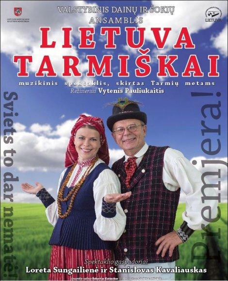 """Spektaklis """"Lietuva tarmiškai"""""""
