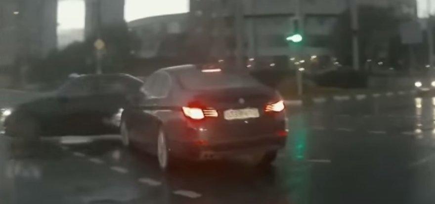Automobilio vaiduoklio avarija
