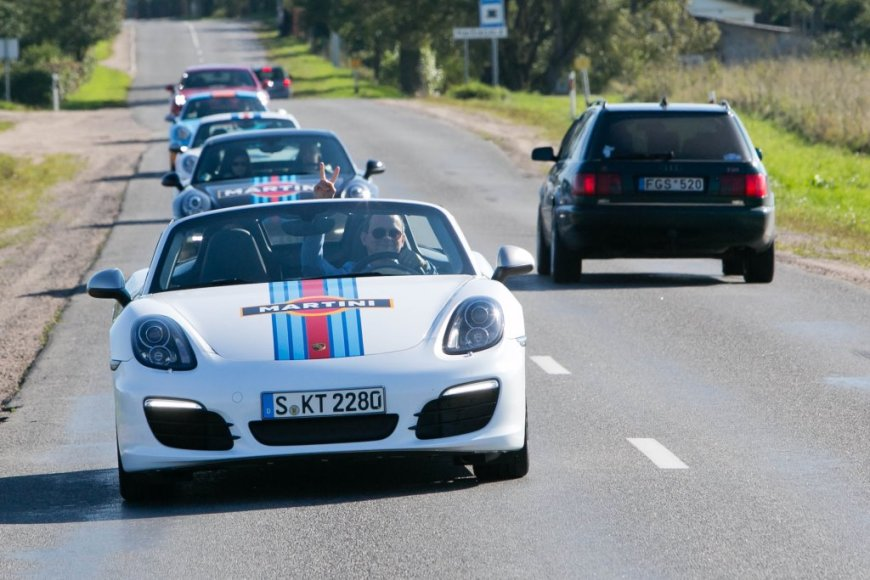 """Porsche Road Show"" Vilniuje"