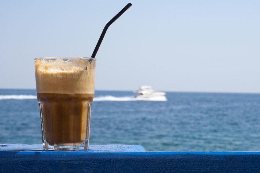 Graikiška frapė – šalta kava