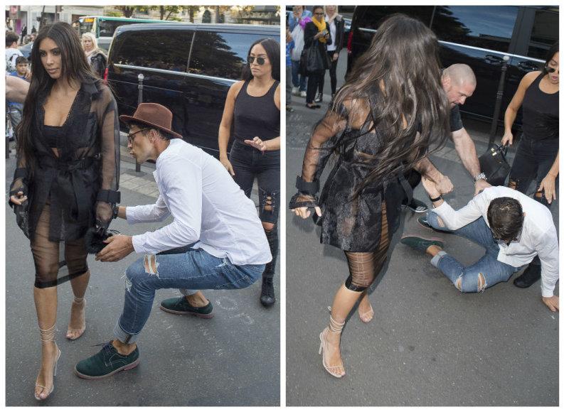 Vitalijus Sediukas bandė pabučiuoti Kim Kardashian sėdynę