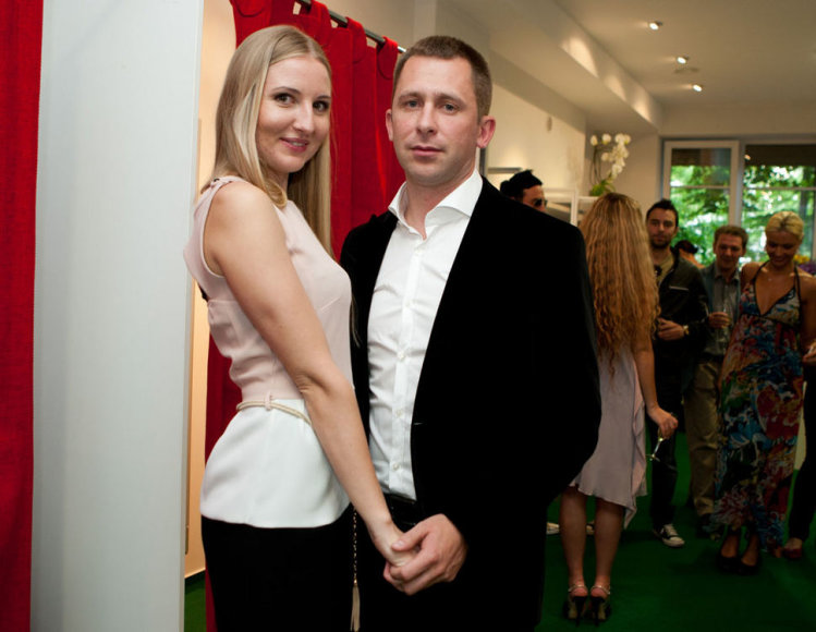 Eleonora Sebrova ir Egidijus Dragūnas-Selas