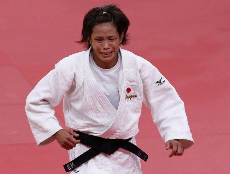Dziudo kovotoja Kaori Matsumoto iš Japonijos