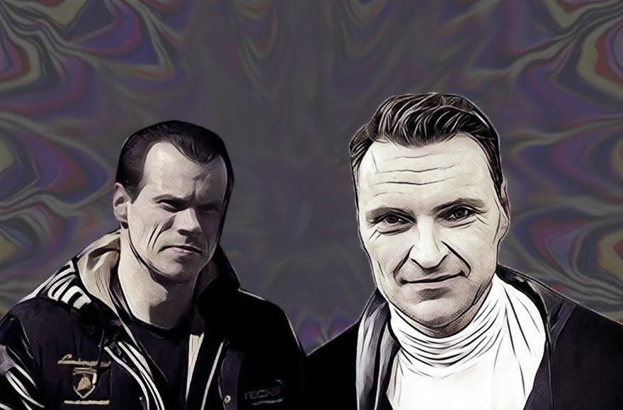 Narkotikų prekeivis Rokas Karpavičius (kairėje) buvo faktinis Žilvino Grigaičio darbdavys