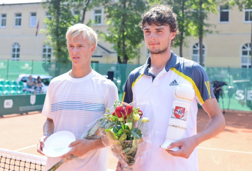 Lukas Mugevičius ir Maksimas Dubarenka