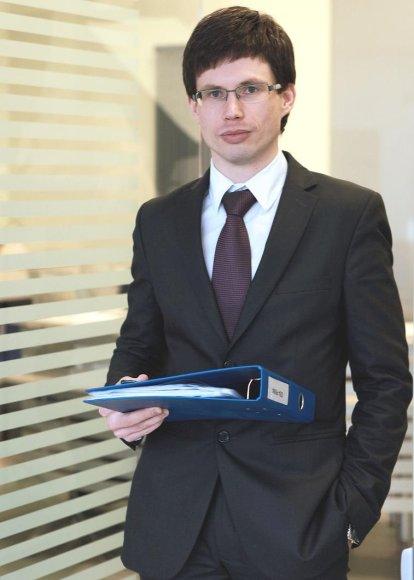 LCKU Rizikos valdymo grupės vadovas Aurelijus Cvilikas