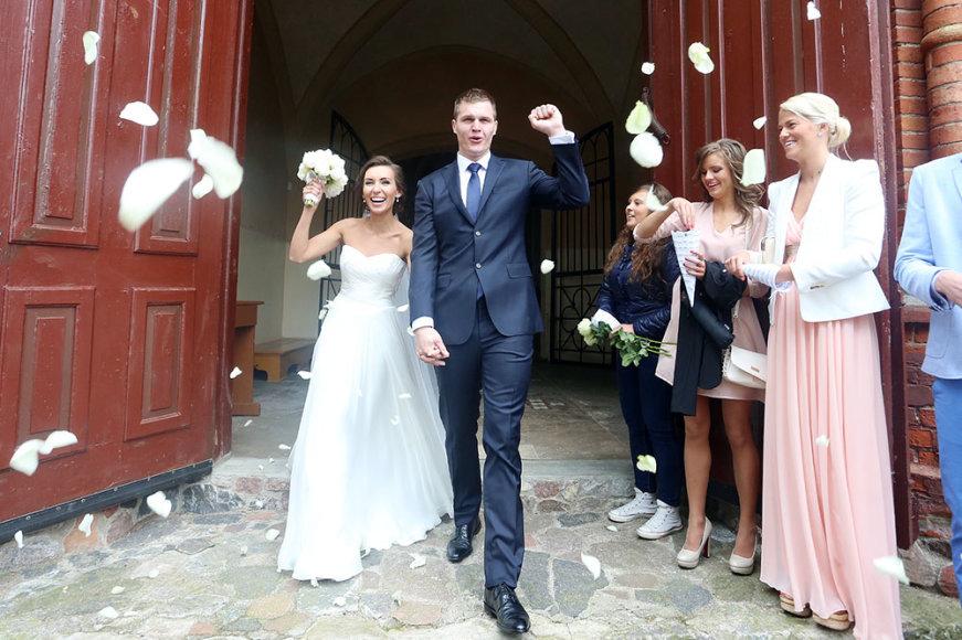 Vytenis Lipkevičius ir Dovilė Poškaitytė