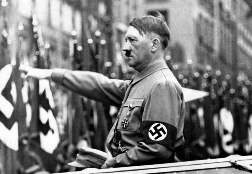 Nacių lyderis Adolfas Hitleris 1937 metais