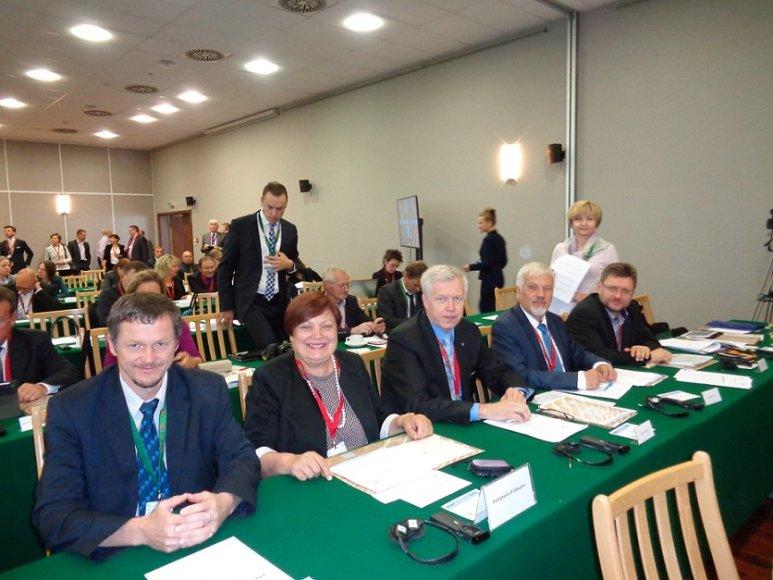 Seimo delegacija Baltijos jūros valstybių parlamentinėje konferencijoje Olštyne