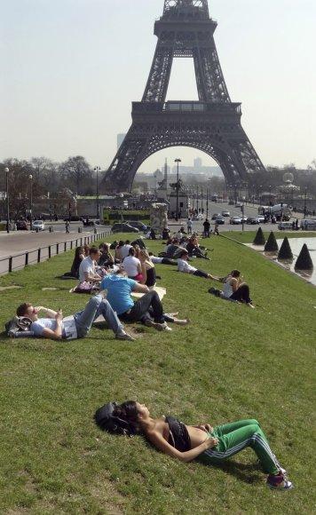 Paryžius vasarą