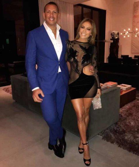 Jennifer Lopez ir Alexas Rodriguezas