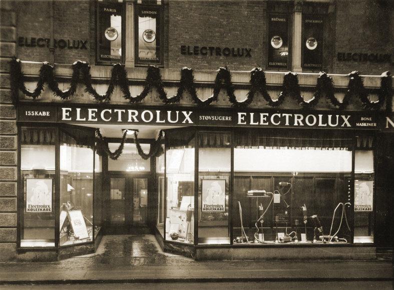 """Gamintojų nuotr./Pirmoji """"Electrolux"""" parduotuvė"""