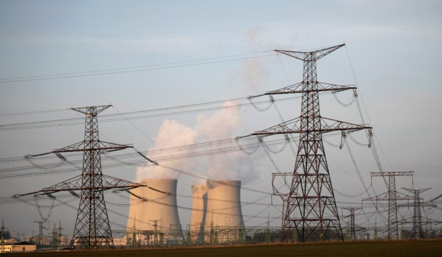 Temelino atominė jėgainė Čekijoje