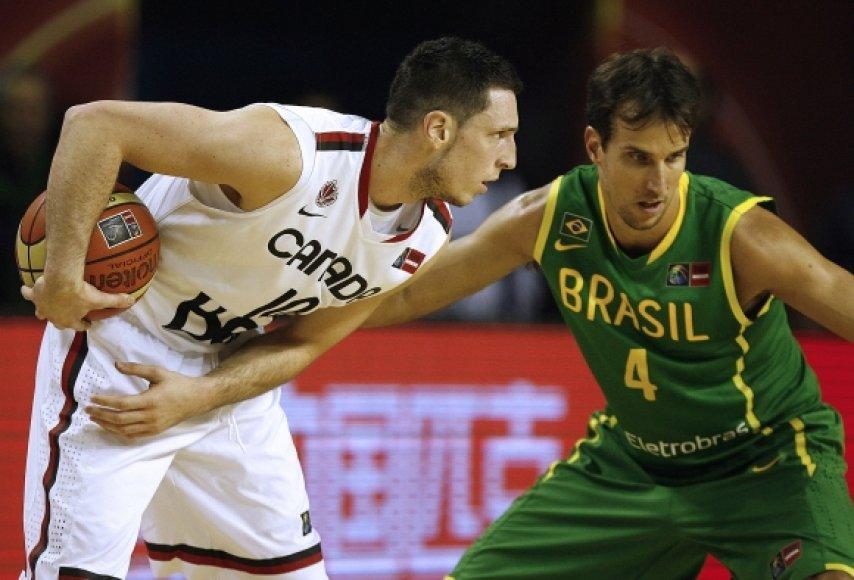 Andy Rautinis (kairėje) ir Marcelo Machado