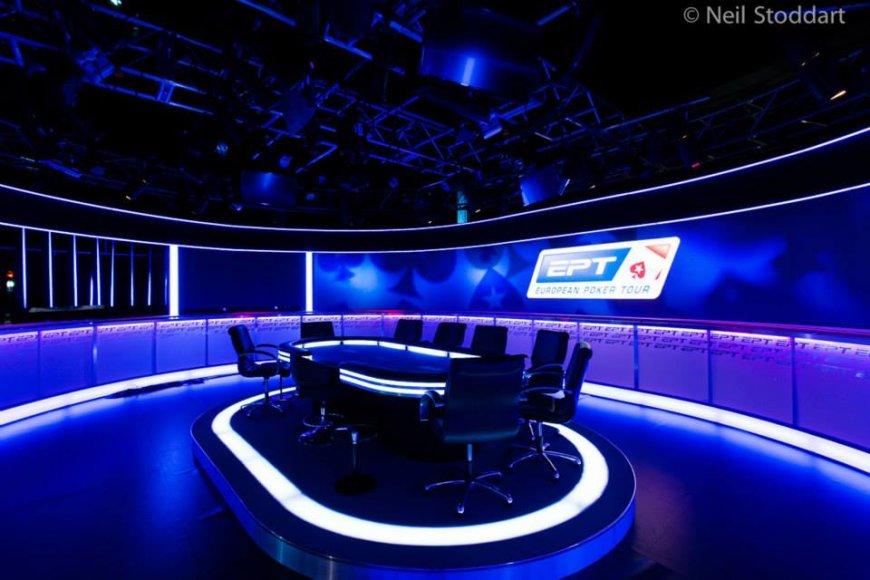 Televizijos stalas Monte Karle