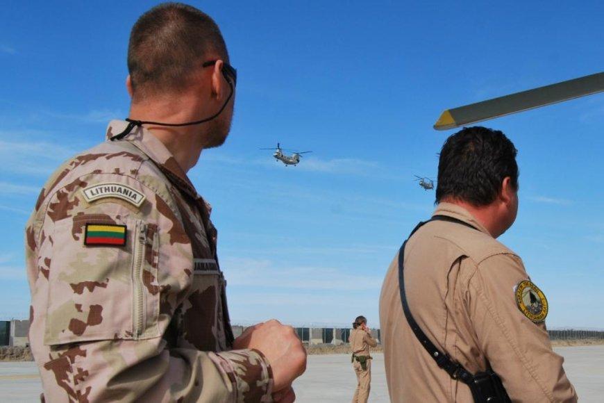 Į tarptautinę operaciją Afganistane išvyksta paskutinioji Oro pajėgų mokymo grupė.