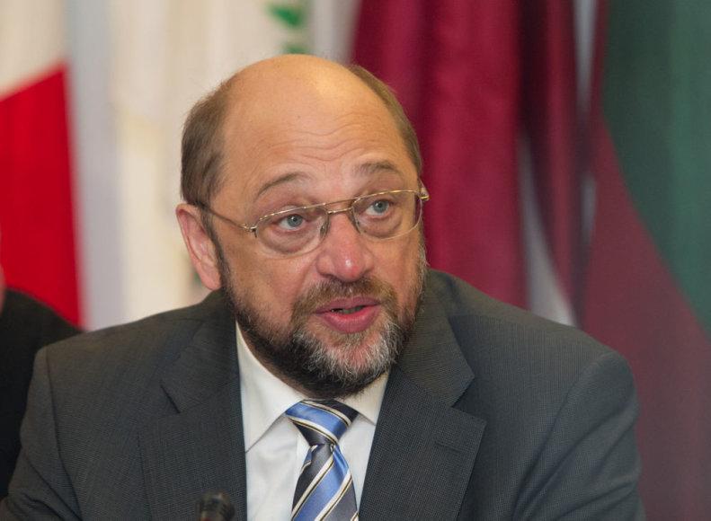Europos Parlamento pirmininkas Martinas Schulzas