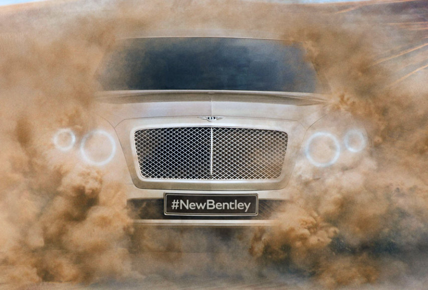 "Naujasis ""Bentley"" SUV"