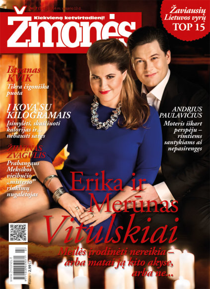 Erika ir Merūnas Vitulskiai