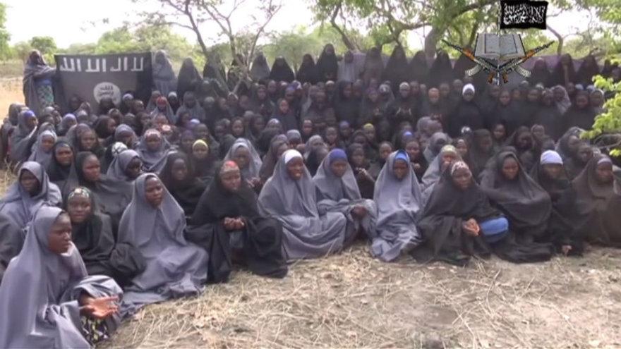 Nigerijoje pagrobtos mergaitės