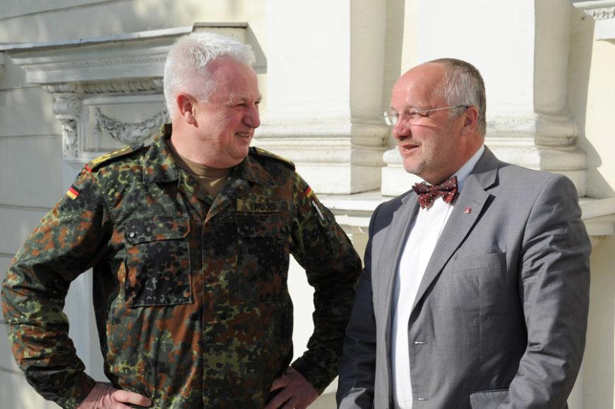 Werneris Freersas ir Juozas Olekas