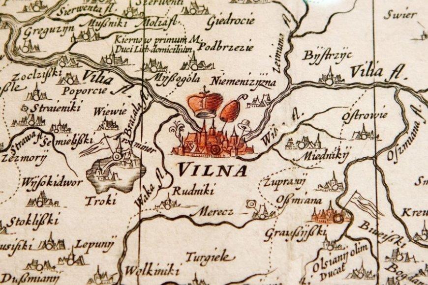 Vilniaus ir Vilniaus apylinkių žemėlapis