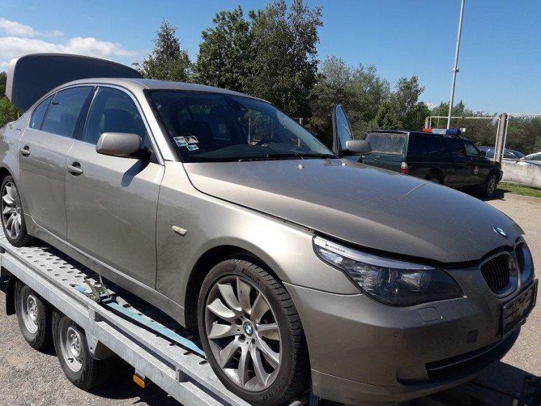 Slovakijoje vogtas BMW automobilis