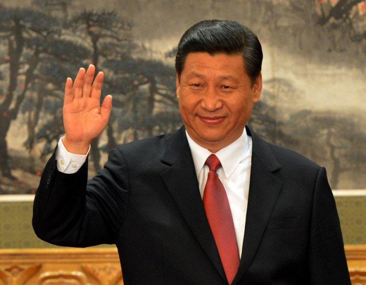 Naujasis Kinijos komunistų partijos vadovs Xi Jinpingas