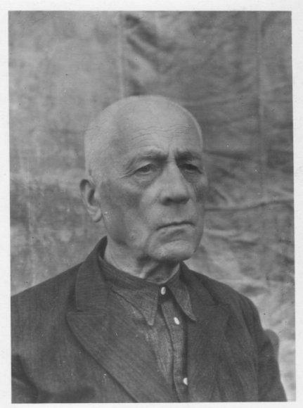 Teofilius Matulionis apie 1955 m. Mordovijoje