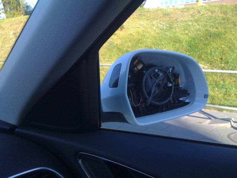 Pavogtas automobilio veidrodėlis