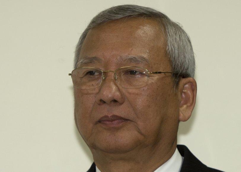 Tailando laikinasis vyriausybės vadovas Niwattumrongas Boonsongpaisanas