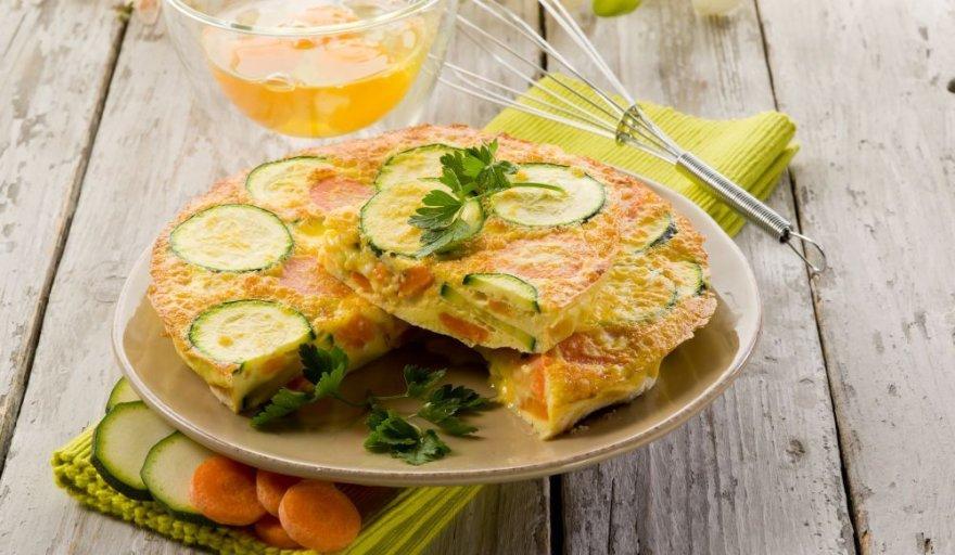 Pyragas su daržovėmis