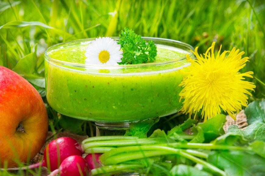 Įrodyta, kad žaliajame supermaiste yra didžiausia koncentracija lengvai virškinamų mitybinių medžiagų.