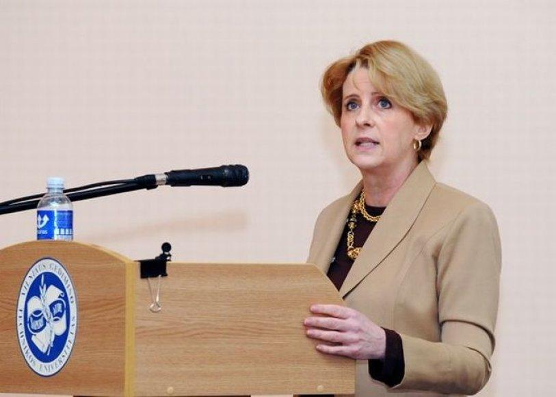 JAV ambasadorė Lietuvoje Deborah Ann McCarthy