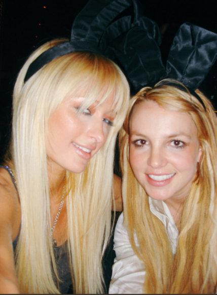"""Twitter"" nuotr./Paris Hilton ir Britney Spears"