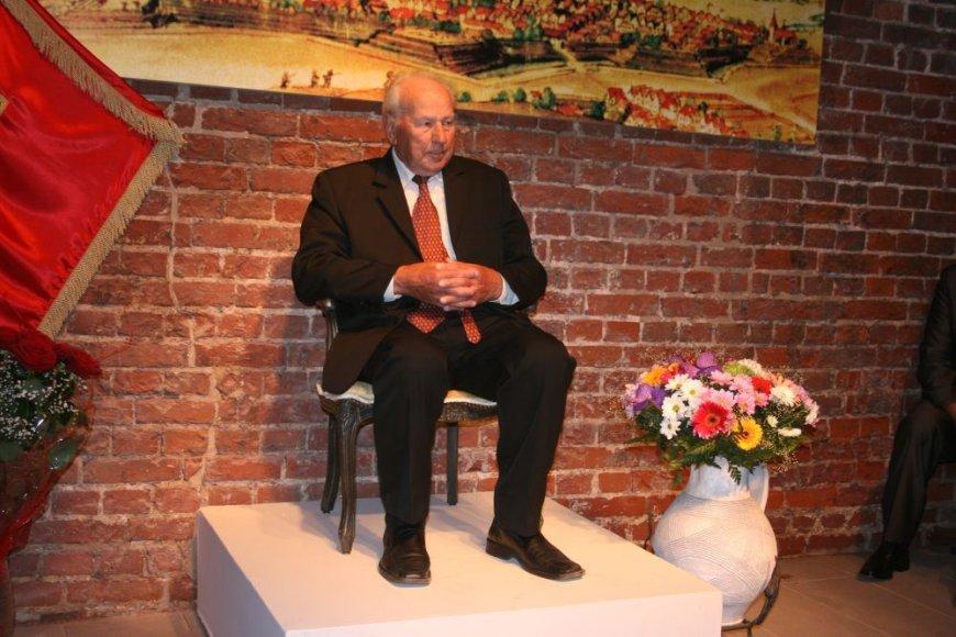 Naujasis kultūros magistras – chorvedys Robertas Varnas.