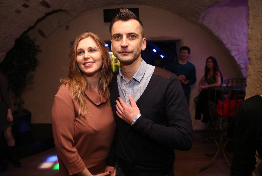 Alanas Chošnau su žmona Valda