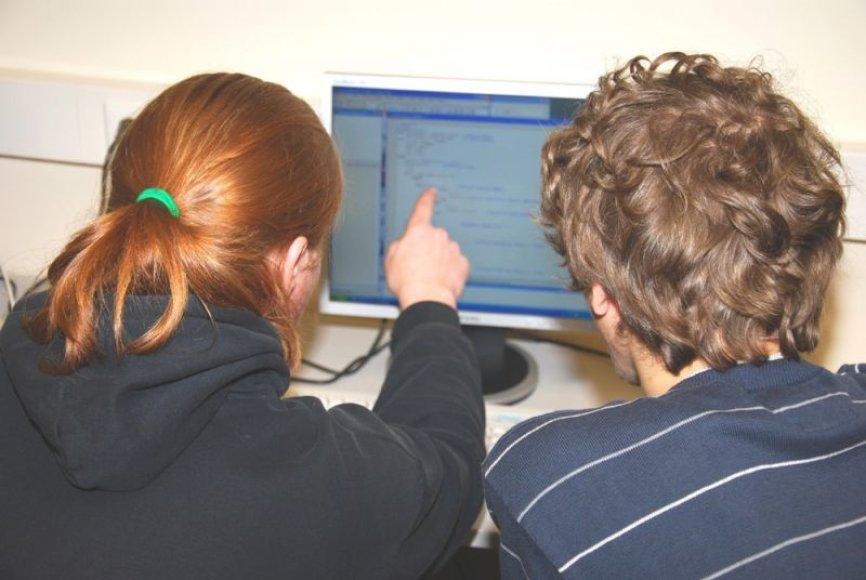 Šią savaitę VDU vyksta informatikos stovykla, skirta moksleiviams