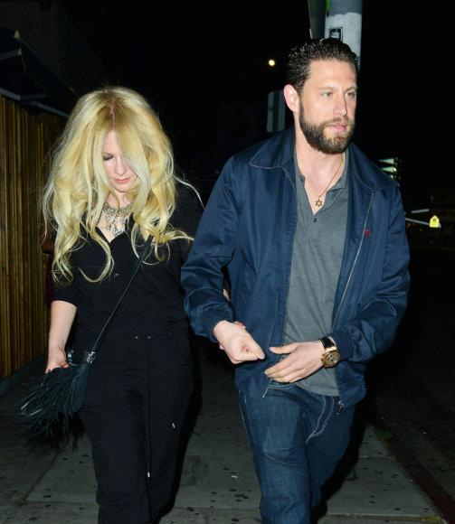 Avril Lavigne ir J.R. Rotemas