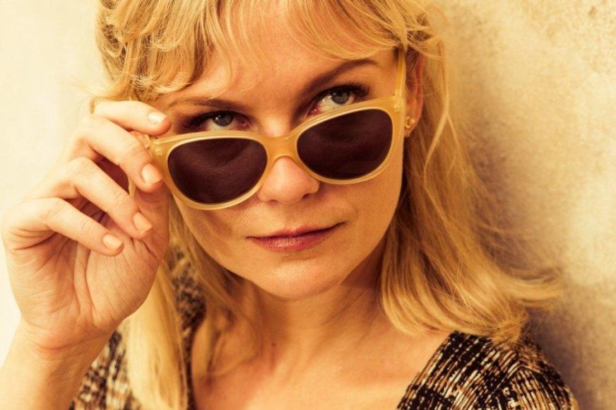 """Kirsten Dunst filme """"Apsimetėlis, sukčius ir dama"""""""