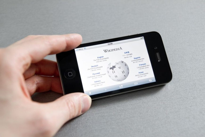"""Wikipedia"" mobiliajame telefone"