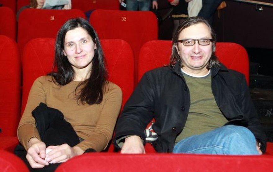 Arūnas Matelis su žmona Algimante